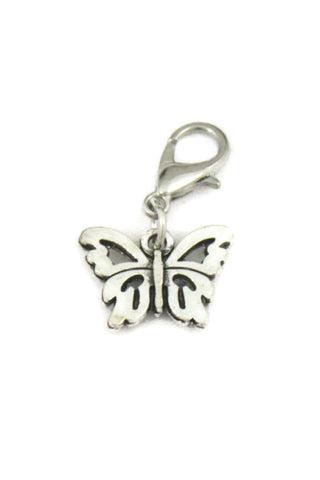 """Butterfly"" Silver Jewelry Charm-Jewelry Charm-Destination Oils"