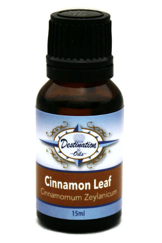 Cinnamon Leaf Essential Oil - 15ml-Single Essential Oils-Destination Oils