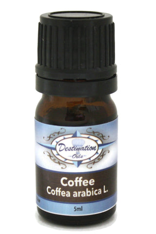 Coffee Essential Oil ~ 5ml ~ Pure-Single Essential Oils-Destination Oils