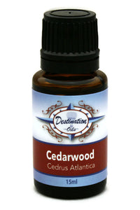 Cedarwood Essential Oil ~ 15ml ~ Pure-Single Essential Oils-Destination Oils