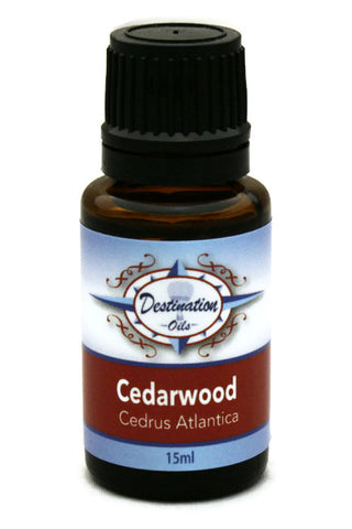 Cedarwood Essential Oil - 15ml-Single Essential Oils-Destination Oils