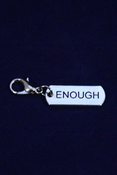 Enough Silver Jewelry Charm-Jewelry Charm-Destination Oils