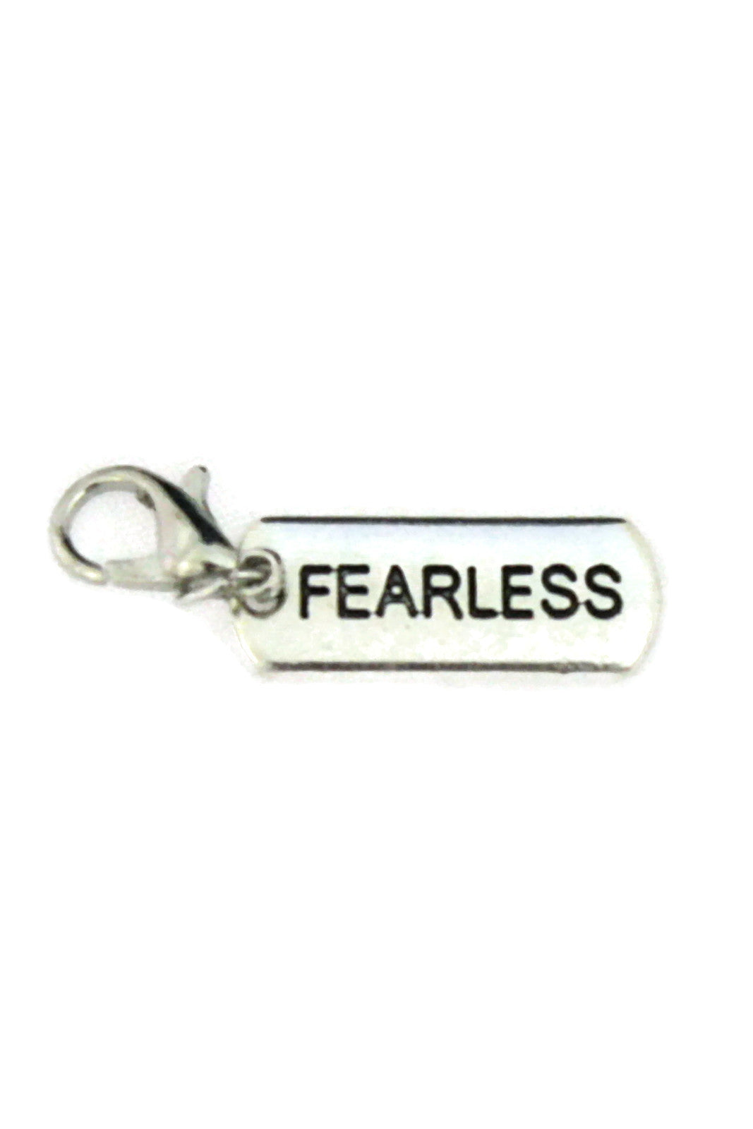 Fearless Silver Jewelry Charm-Jewelry Charm-Destination Oils