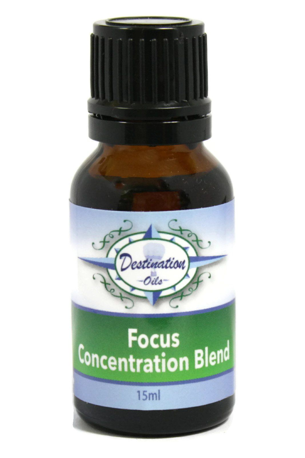 Focus - Concentration Essential Oil Blend - 15ml-Essential Oil Blend-Destination Oils