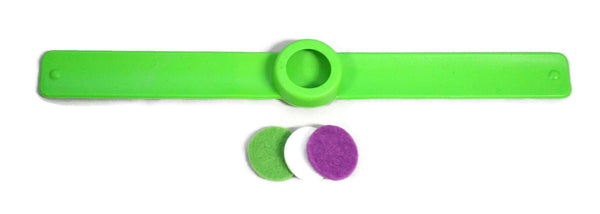 Sporty Kids Essential Oil Diffuser Silicone Slap Bracelet- Set of 3-Diffuser Bracelet-Destination Oils