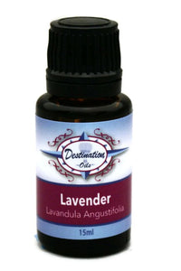 Lavender Essential Oil ~ 15ml ~ Pure-Single Essential Oils-Destination Oils
