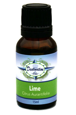 Lime Essential Oil - 15ml-Single Essential Oils-Destination Oils