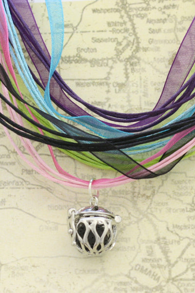 Harmony Interchangeable Essential Oil Diffuser Necklace- 5 colors-Diffuser Necklace-Destination Oils