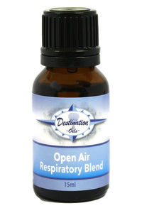 Open Air- Respiratory Essential Oil Blend - 15ml-Essential Oil Blend-Destination Oils
