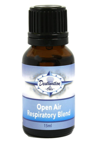 Open Air - Respiratory Essential Oil Blend - 15ml-Essential Oil Blend-Destination Oils