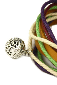Orchard Leather Wrap Essential Oil Diffuser Bracelet/ Choker Necklace-Diffuser Bracelet-Destination Oils