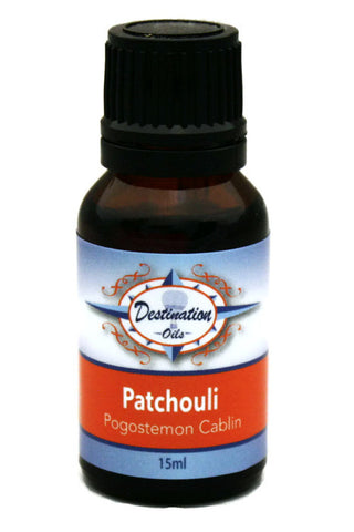 Patchouli Essential Oil ~ 15ml ~ Pure-Single Essential Oils-Destination Oils
