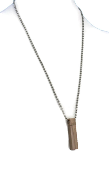 AromaVial Rose Gold Necklace/ Rear View Mirror Diffuser-Diffuser Necklace-Destination Oils