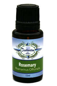 Rosemary Essential Oil ~ 15ml ~ Pure-Single Essential Oils-Destination Oils