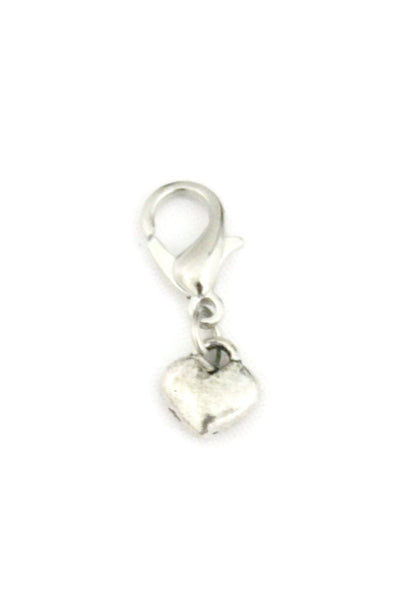 Heart Small Silver Jewelry Charm-Jewelry Charm-Destination Oils
