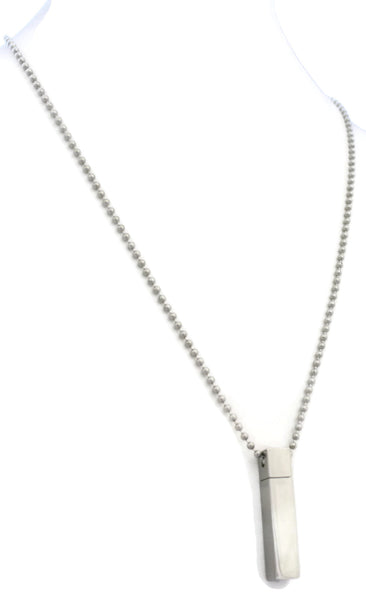 AromaVial Stainless Steel Necklace/ Rear View Mirror Diffuser-Diffuser Necklace-Destination Oils