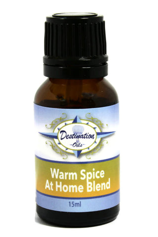 Warm Spice - At Home Essential Oil Blend - 15ml-Essential Oil Blend-Destination Oils