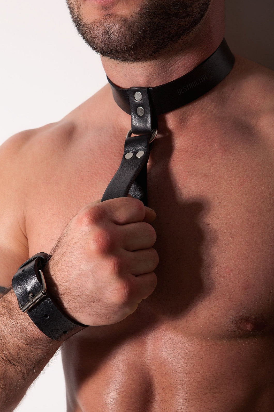 100% Real Leather Collar