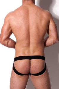 Diversity Jockstrap Black with Rivets