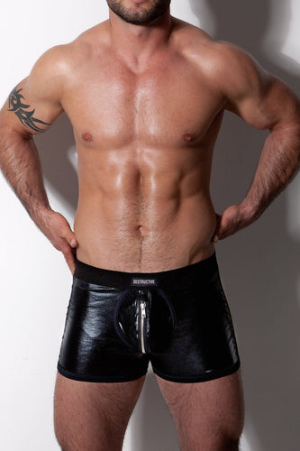 Diversity Shorts with Black Mesh and 2 Zippers