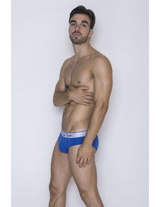 Core Briefs - Blue with white