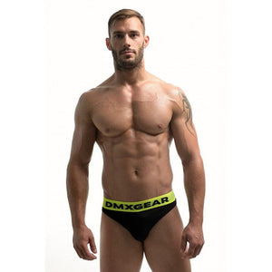 DMXGEAR LUXURY COTTON BLACK MEN'S THONG ANATOMICALLY FIT THONG - G UNDIE