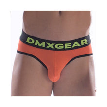 DMXGEAR LUXURY COTTON ORANGE MEN'S BRIEF ANATOMICALLY FIT BRIEF