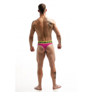 DMXGEAR LUXURY COTTON PINK MEN'S THONG ANATOMICALLY FIT THONG - G UNDIE