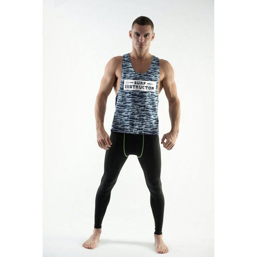 DMXGEAR TANK TOP SURF INSTRUCTOR PURE SPORT BLUE ARMY