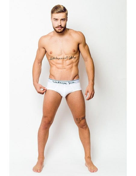 Solid Briefs - White - G UNDIE
