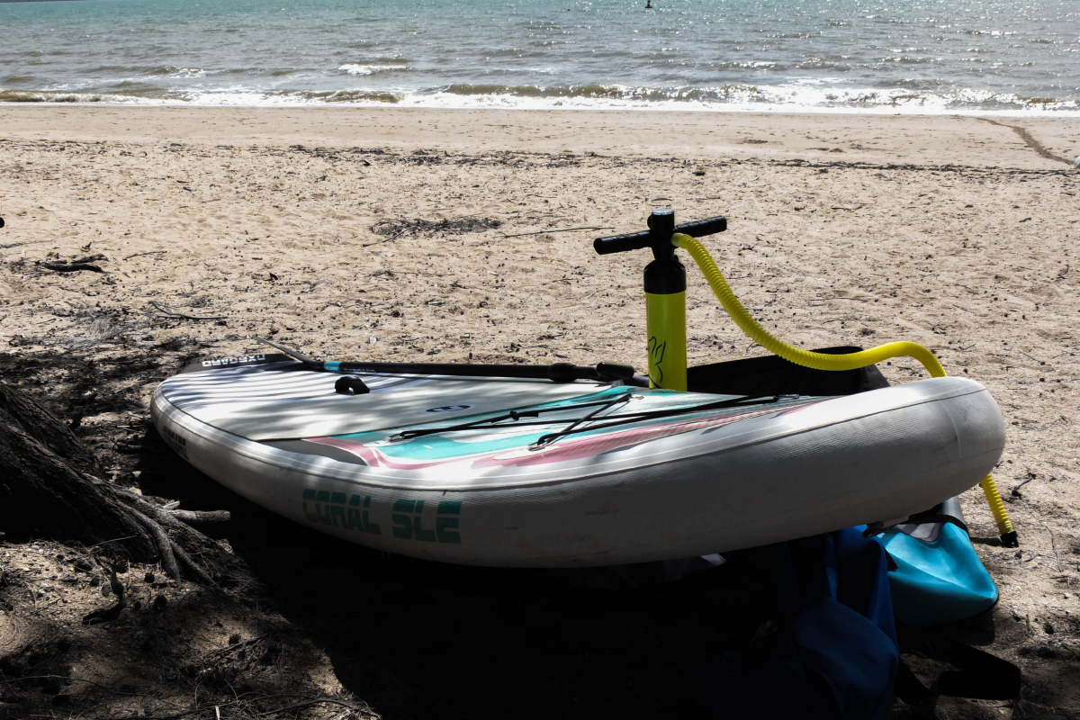 The 1st you should know about inflatable SUP