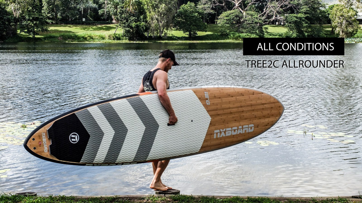 NXBOARD tree2c stand up paddle board