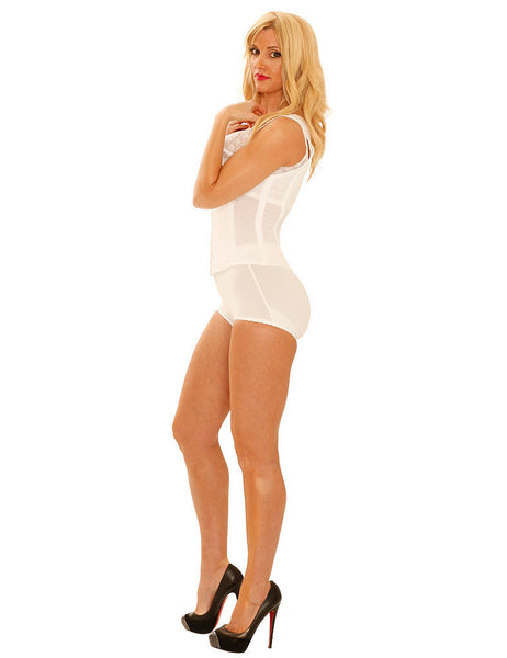 Panty Girdle Black/White