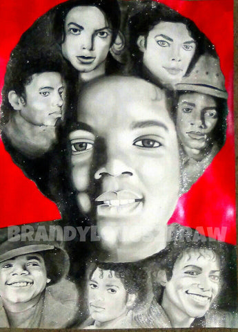 Michael Jackson Legends - Original Artwork