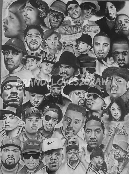 Rap Legends Print / Canvas