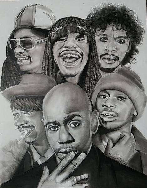 Dave Chappelle Original Artwork