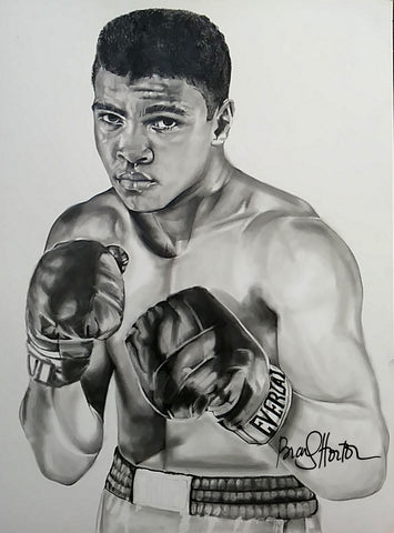 Ali (G.O.A.T) Original Artwork
