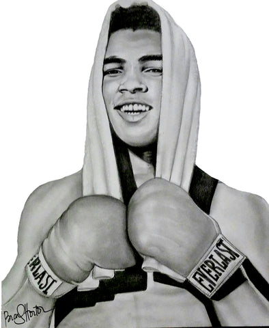 Ali (Young) Original Artwork