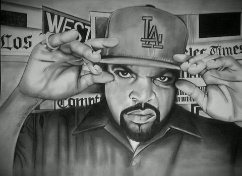 Ice Cube Original Artwork