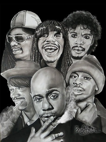 Dave Chappelle Print