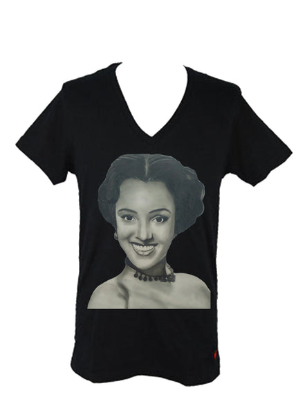 Dorothy Dandridge Women's Fitted V-Neck