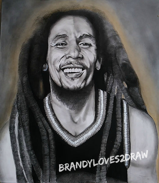 Bob Marley #2 Original Artwork