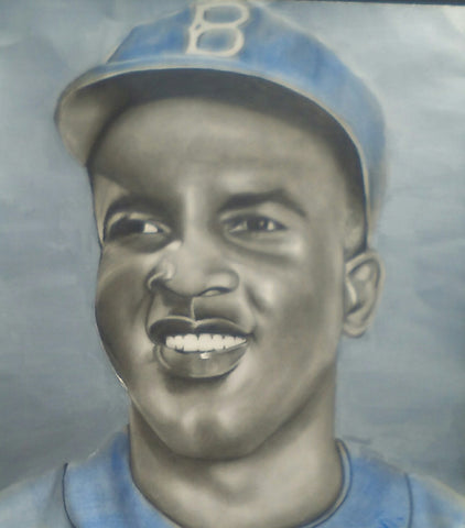 Jackie Robinson Original Artwork