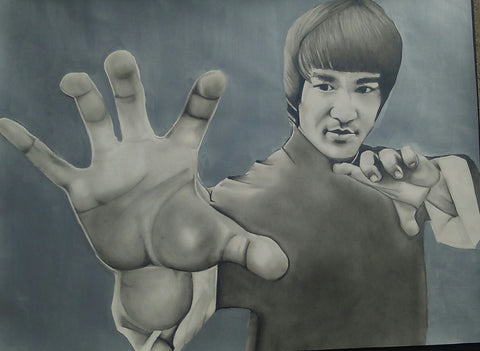 BRUCE LEE - Original Artwork