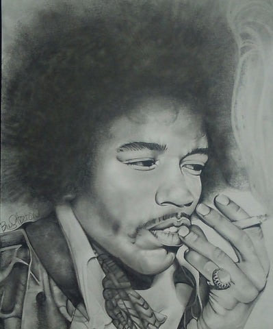 Jimi Hendrix Original Artwork