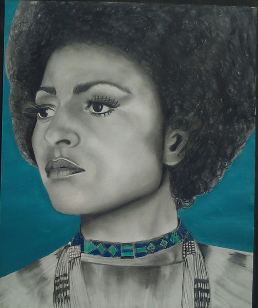 PAM GRIER Original Artwork