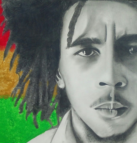 Bob Marley (young) - Original Artwork