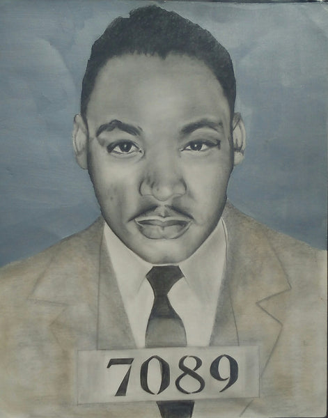 MARTIN LUTHER KING JR - Original Artwork