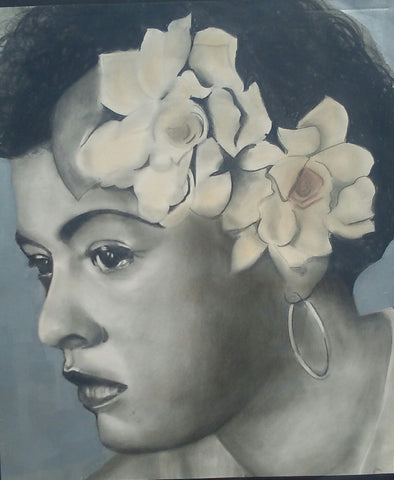 Billie Holiday Original Artwork