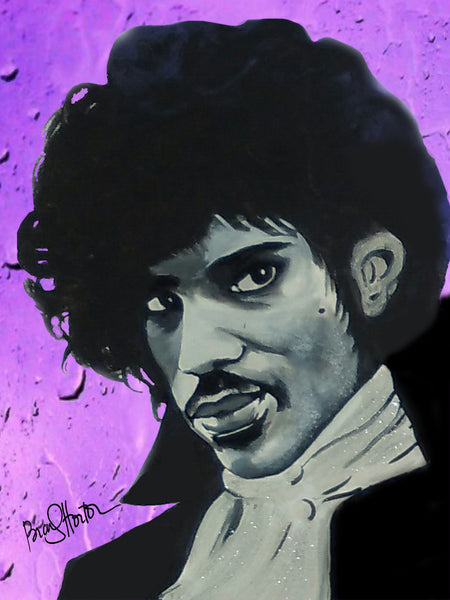 Prince Purple Rain  Print / Canvas